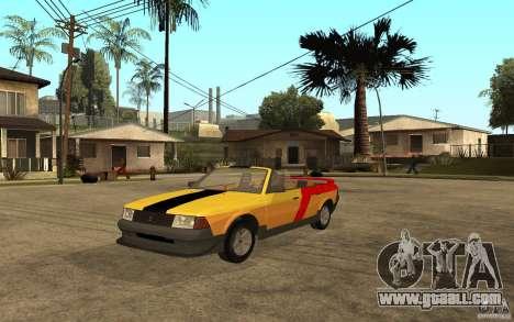 Moskvich 2141 Cabriolet for GTA San Andreas