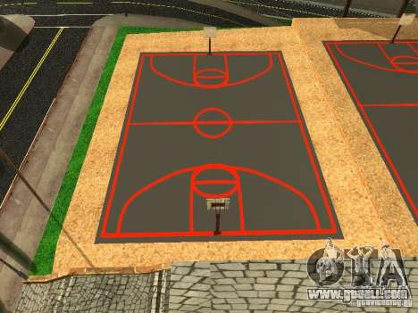 The new basketball court for GTA San Andreas second screenshot