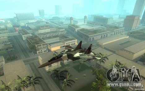 Su-35 BM v2.0 for GTA San Andreas