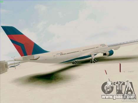 Airbus A330-200 for GTA San Andreas back left view