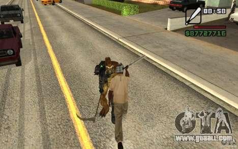 Cj hunt V 2.0 for GTA San Andreas