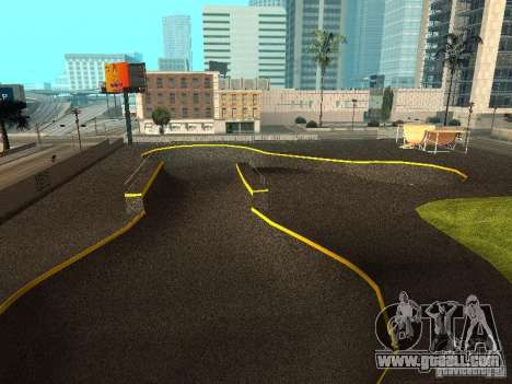 New SkatePark for GTA San Andreas third screenshot