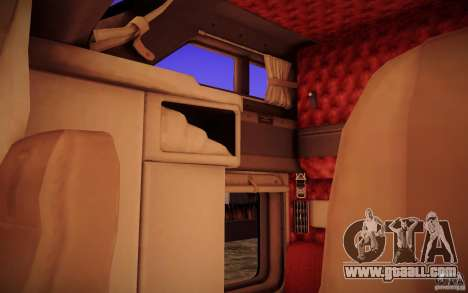 Kenworth T600 for GTA San Andreas interior