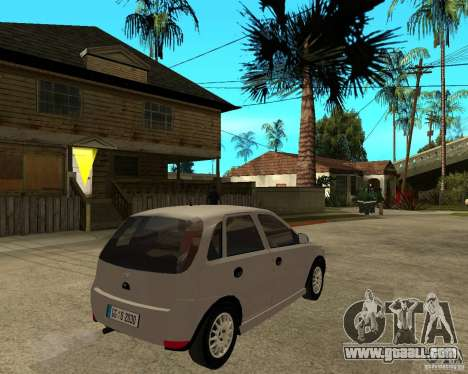 Opel Corsa C for GTA San Andreas