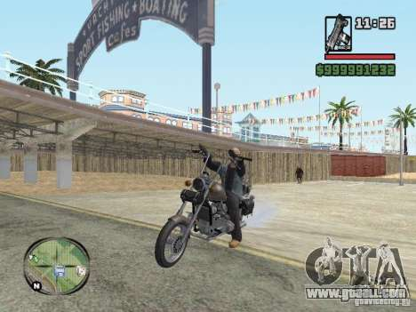 Vagos Biker for GTA San Andreas third screenshot