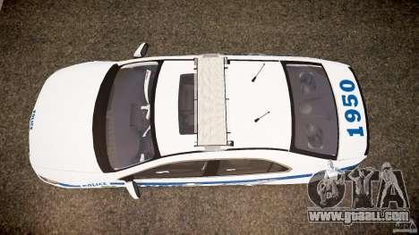 Honda Accord Type R NYPD (City Patro 1950l) ELS for GTA 4 right view