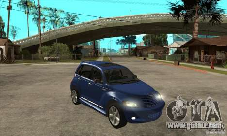 Chrysler PT Cruiser GT 2004 for GTA San Andreas back view
