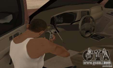 Chevrolet Suburban for GTA San Andreas interior