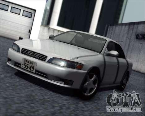 Toyota Mark II GX90 v.1.1 for GTA San Andreas
