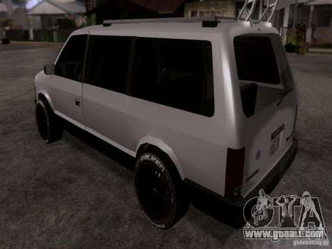 Plymouth Grand Voyager 1970 for GTA San Andreas left view