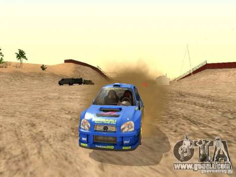 Subaru Impreza WRC 2003 for GTA San Andreas right view