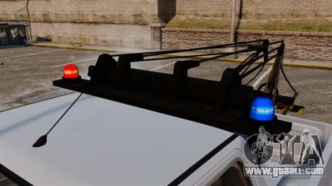 Rancher Tow Truck ELS for GTA 4 inner view