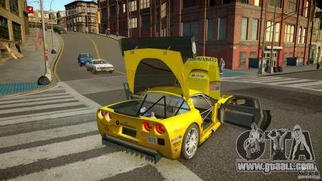 Chevrolet Corvette C6-R v2.0 for GTA 4 inner view