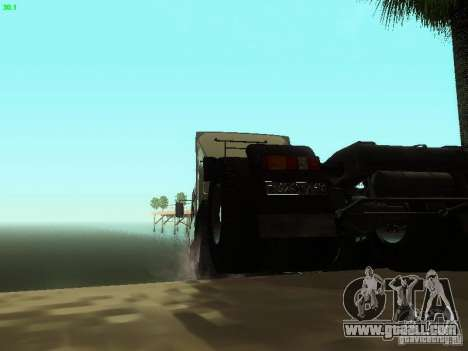KAMAZ 6460 for GTA San Andreas back view