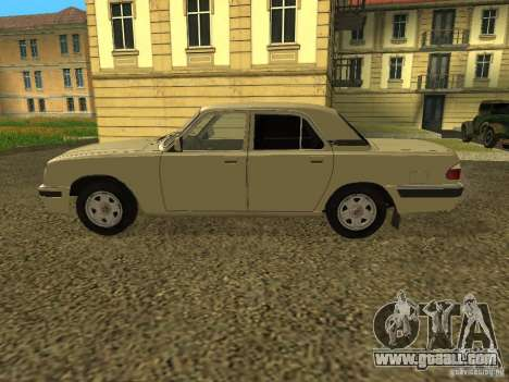 GAZ Volga 31105 restyling for GTA San Andreas back left view
