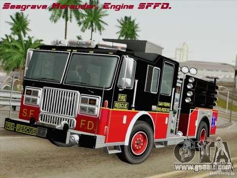 Seagrave Marauder Engine SFFD for GTA San Andreas