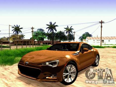 Subaru BRZ for GTA San Andreas