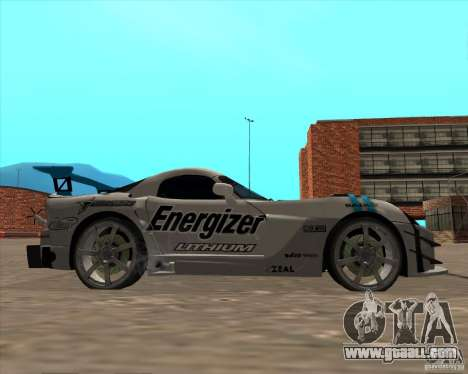 Dodge Viper Energizer for GTA San Andreas right view
