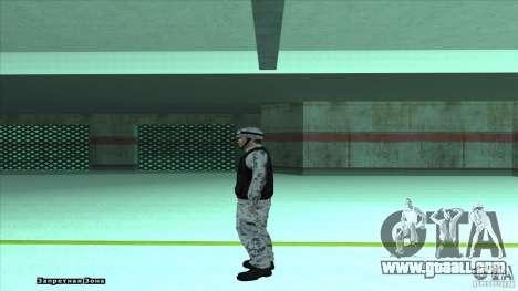 Army Soldier v2 for GTA San Andreas third screenshot
