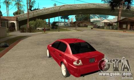 GTA IV Premier for GTA San Andreas back left view