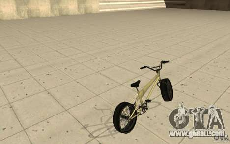 BMX Long for GTA San Andreas back left view