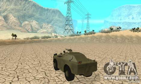 BRDM-1 Skin 1 for GTA San Andreas right view