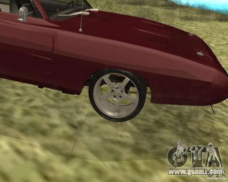 Dodge Charger Daytona for GTA San Andreas right view