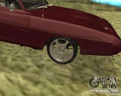 Dodge Charger Daytona for GTA San Andreas right view