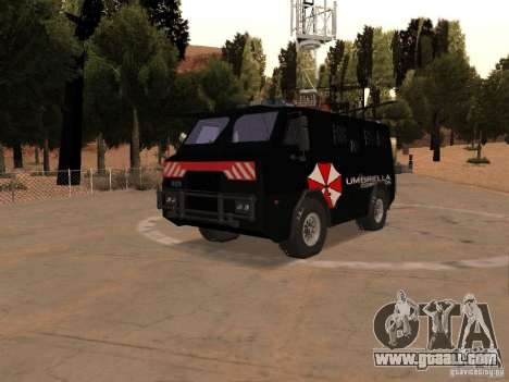 AM 7.0 Umbrella Corporation for GTA San Andreas
