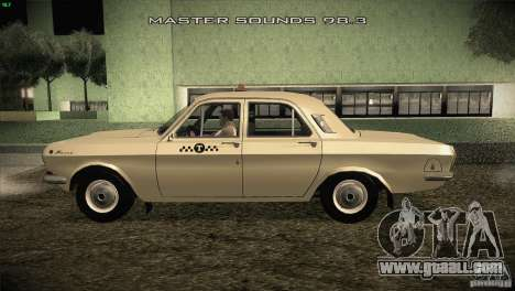 GAZ-24 Volga Taxi 01 for GTA San Andreas