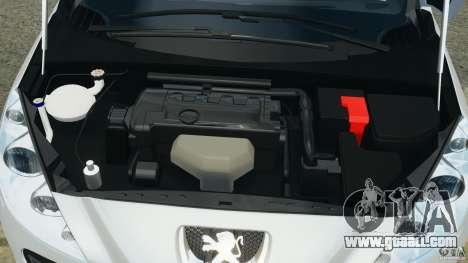 Peugeot 308 GTi 2011 v1.1 for GTA 4 upper view