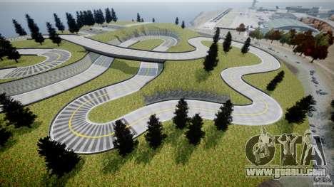 Edem Hill Drift Track for GTA 4 sixth screenshot