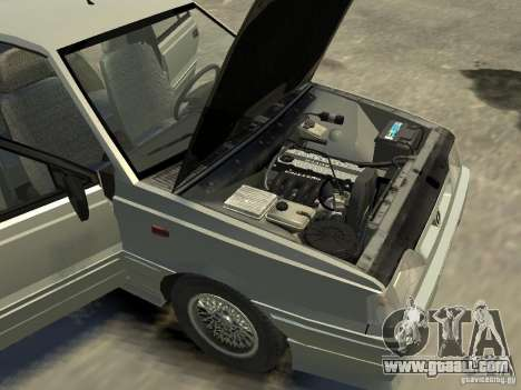 FSO Polonez for GTA 4 inner view