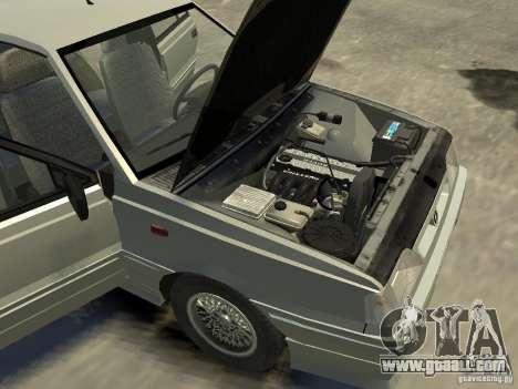FSO Polonez Caro for GTA 4 inner view