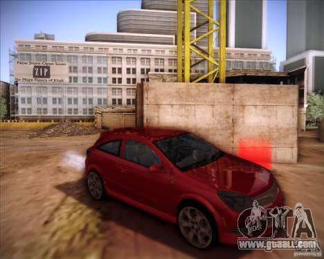 Opel Astra Saturn for GTA San Andreas