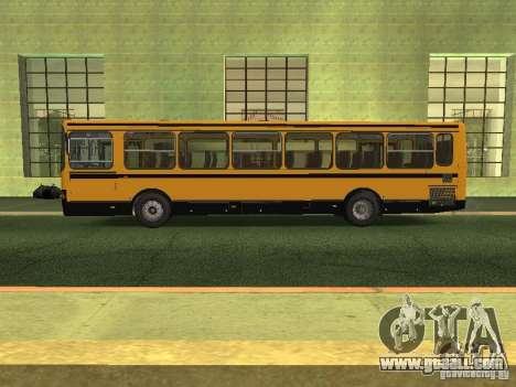 LIAZ 5256.26-01 for GTA San Andreas left view