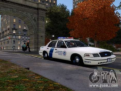 Ford Crown Victoria Homeland Security for GTA 4