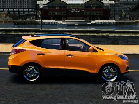 Hyundai ix35 2010 Final for GTA 4 left view