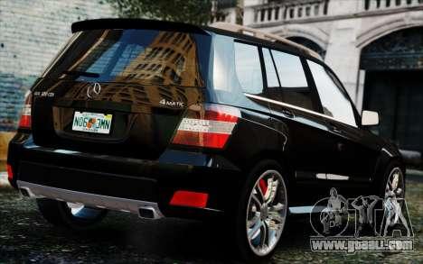 Mercedes-Benz GLK 320 CDI for GTA 4 left view