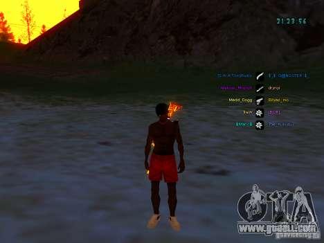 Skin pack for samp-rp for GTA San Andreas third screenshot