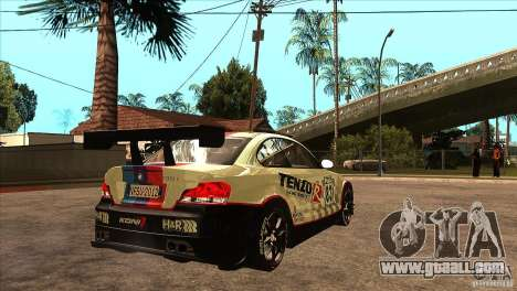 BMW 135i Coupe GP Edition Skin 1 for GTA San Andreas right view