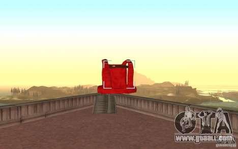 Global fashion parachute for GTA San Andreas forth screenshot