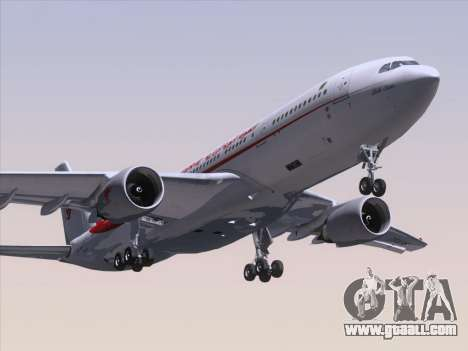 Airbus A330-203 Air Algerie for GTA San Andreas left view