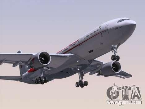 Airbus A330-203 Air Algerie for GTA San Andreas left view