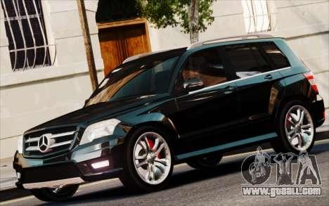 Mercedes-Benz GLK 320 CDI for GTA 4 back left view