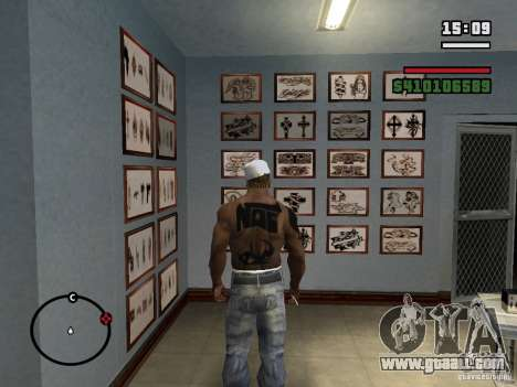 New Tattoos for GTA San Andreas sixth screenshot