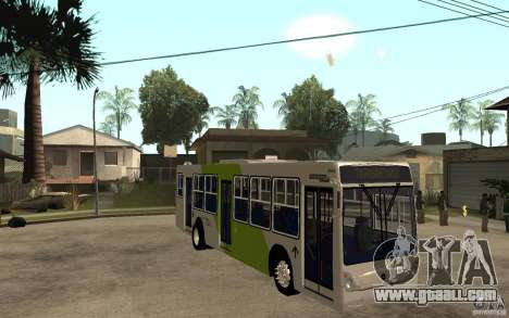 Caio Induscar Mondego Transantiago for GTA San Andreas back view