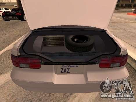 Chevrolet Impala SS 1995 for GTA San Andreas back view