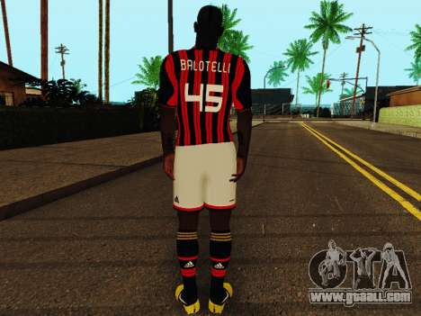 Mario Balotelli v1 for GTA San Andreas forth screenshot