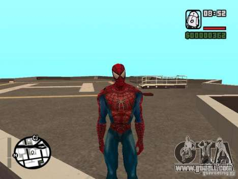 Spider Man From Movie for GTA San Andreas forth screenshot
